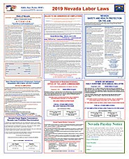 2019 - Federal & Nevada - ( Paper ) - 2 Poster Set